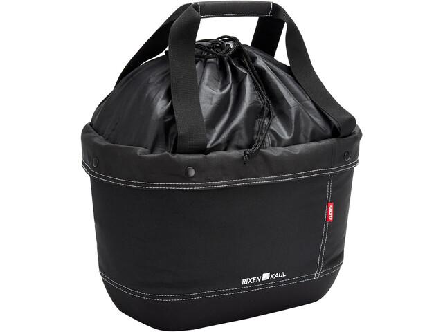 KlickFix Shopper Alingo Bike Bag black
